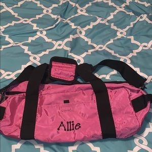 Other - Pink sleepover bag with name Allie